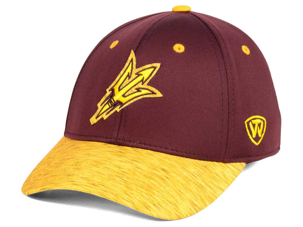 newest b37b5 5d3b3 best Arizona State Sun Devils Top of the World NCAA Fable Stretch Cap