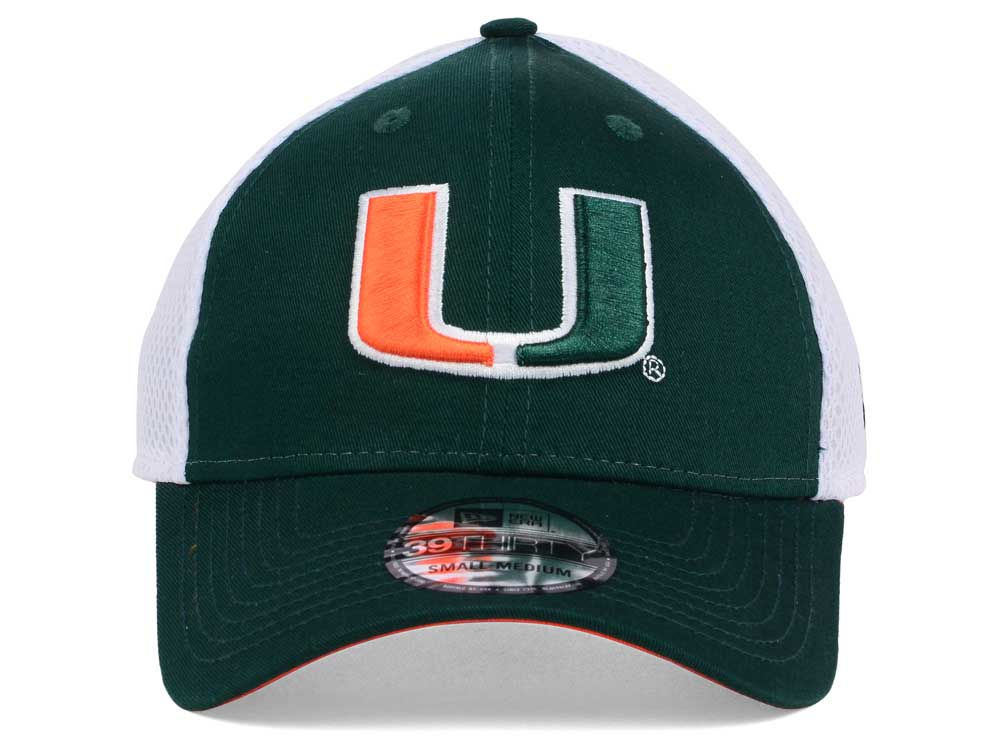 promo code 76844 66cd9 spain adidas miami hurricanes on field baseball fitted cap 50off miami  hurricanes new era ncaa neo