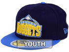 Denver Nuggets New Era NBA Kids 2-Tone Team 59FIFTY Cap Fitted Hats