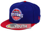 Detroit Pistons New Era NBA Kids 2-Tone Team 59FIFTY Cap Fitted Hats