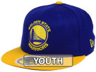 Golden State Warriors New Era NBA Kids 2-Tone Team 59FIFTY Cap Fitted Hats