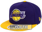 Los Angeles Lakers New Era NBA Kids 2-Tone Team 59FIFTY Cap Fitted Hats