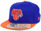 New York Knicks New Era NBA Kids 2-Tone Team 59FIFTY Cap Fitted Hats