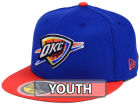 Oklahoma City Thunder New Era NBA Kids 2-Tone Team 59FIFTY Cap Fitted Hats