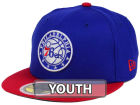 Philadelphia 76ers New Era NBA Kids 2-Tone Team 59FIFTY Cap Fitted Hats
