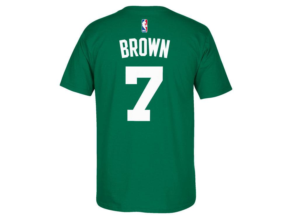 85%OFF Boston Celtics Jaylen Brown adidas NBA Men s Player T-Shirt ... 5bacd93d3