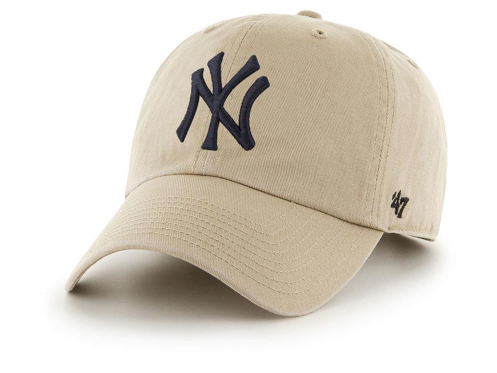 06b13b8af90 free shipping New York Yankees  47 MLB Khaki  47 CLEAN UP Cap - the ...