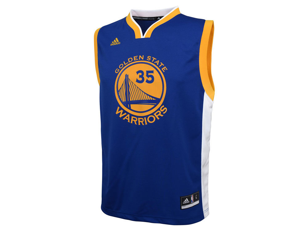 f2888cc656f Golden State Warriors Kevin Durant Youth NBA Revolution 30 Jersey new ·