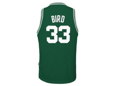 Boston Celtics Larry Bird Nike NBA Youth Retired Player Swingman Jersey  5589da62e
