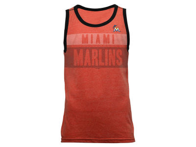 Miami Marlins MLB Men's Tri-Blend Jersey Tank