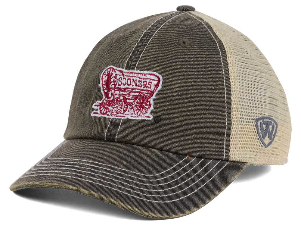 sports shoes de478 8d522 ... sweden oklahoma sooners top of the world ncaa wickler mesh cap 85off  4b974 95437