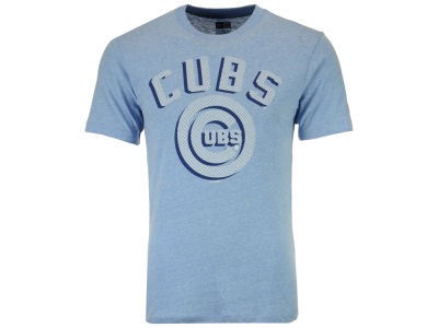 Chicago Cubs MLB Men's Shadow Tri-Blend T-Shirt