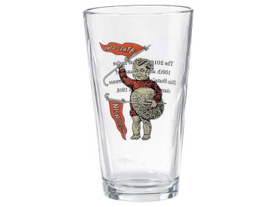 Boelter Brands 16oz 100th Anniversary Flag Pint Glass