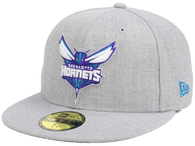Charlotte Hornets NBA All Heather 59FIFTY Cap Hats