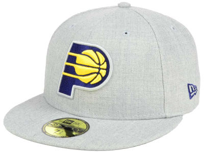 Indiana Pacers NBA All Heather 59FIFTY Cap Hats