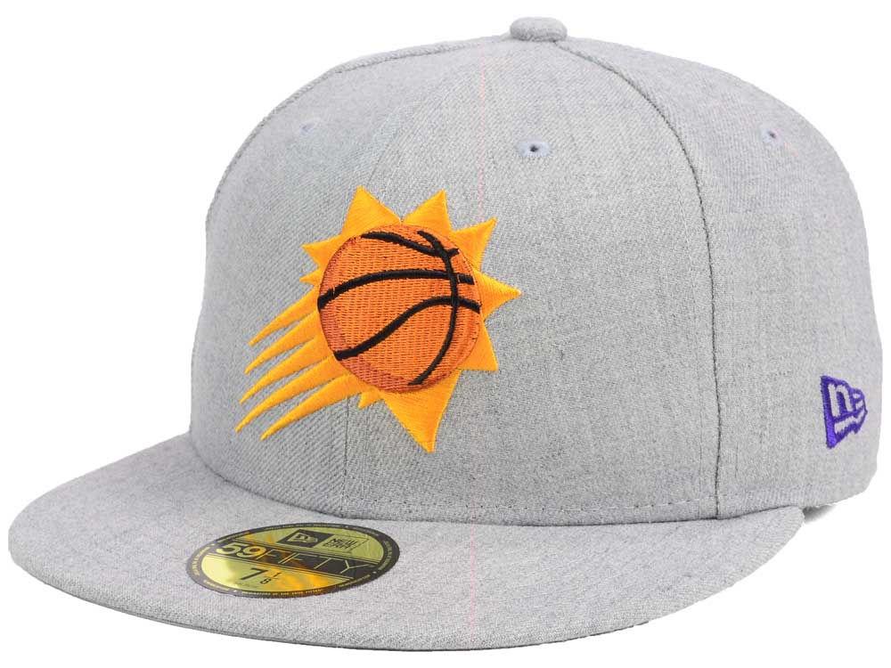 quality design f5404 970a0 Phoenix Suns New Era NBA All Heather 59FIFTY Cap new
