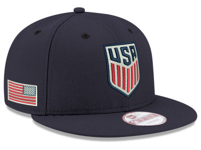 USA 2016 Crest With Flag 9FIFTY Snapback Cap Hats