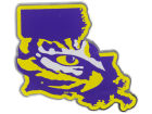 LSU Tigers State Auto Emblem Auto Accessories