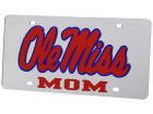Ole Miss Rebels Laser Tag Auto Accessories