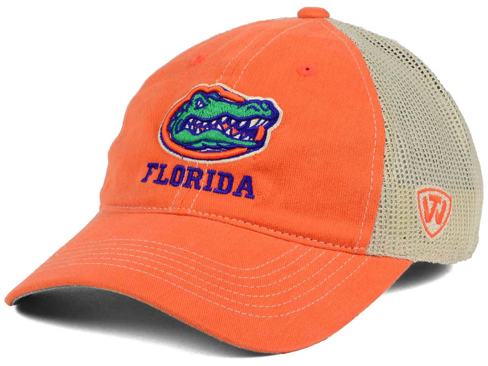 huge selection of 672a5 4932e 85%OFF Florida Gators Top of the World NCAA Wickler Mesh Cap