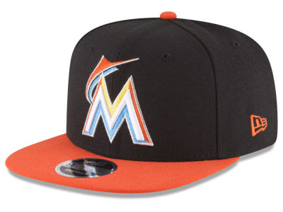 Miami Marlins MLB Local Sideptach 9FIFTY Snapback Cap Hats