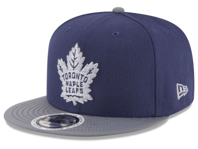 Toronto Maple Leafs NHL Reflective Embroidery and Visor 9FIFTY Snapback Cap Hats