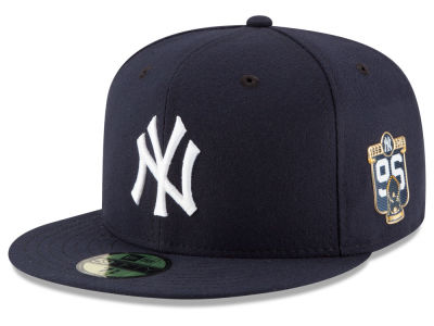 New York Yankees 2016 MLB 20th Anniversary World Series Patch 59FIFTY Cap Hats