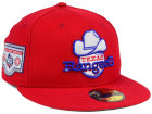 Texas Rangers New Era MLB Banner Patch 2.0 59FIFTY Cap Fitted Hats