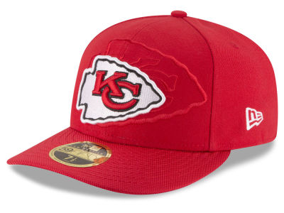 Kansas City Chiefs NFL Sideline Low Profile 59FIFTY Cap Hats