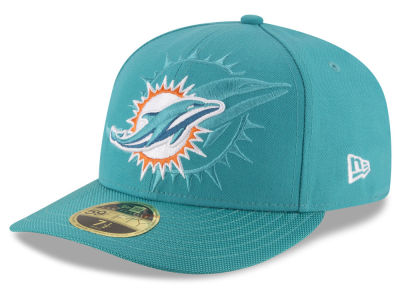 Miami Dolphins NFL Sideline Low Profile 59FIFTY Cap Hats