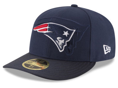 New England Patriots NFL Sideline Low Profile 59FIFTY Cap Hats