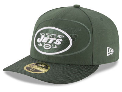 New York Jets NFL Sideline Low Profile 59FIFTY Cap Hats