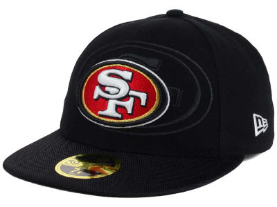 San Francisco 49ers NFL Sideline Low Profile 59FIFTY Cap Hats
