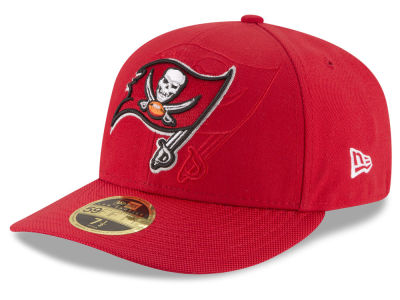 Tampa Bay Buccaneers NFL Sideline Low Profile 59FIFTY Cap Hats