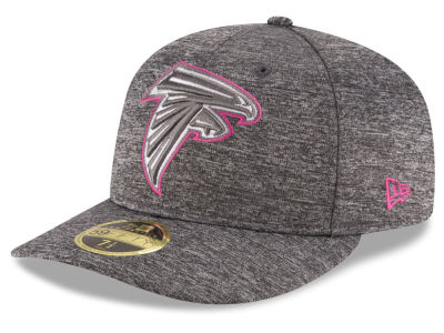 Atlanta Falcons NFL Breast Cancer Awareness Low Profile 59FIFTY Cap Hats