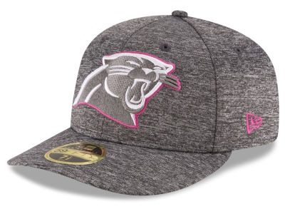 Carolina Panthers NFL Breast Cancer Awareness Low Profile 59FIFTY Cap Hats