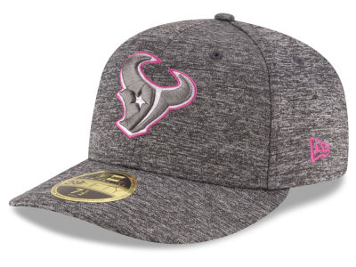 Houston Texans NFL Breast Cancer Awareness Low Profile 59FIFTY Cap Hats
