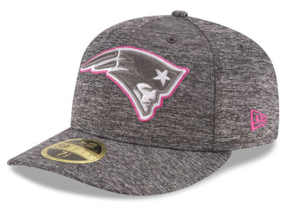 New England Patriots NFL Breast Cancer Awareness Low Profile 59FIFTY Cap Hats