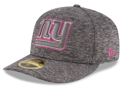 New York Giants NFL Breast Cancer Awareness Low Profile 59FIFTY Cap Hats