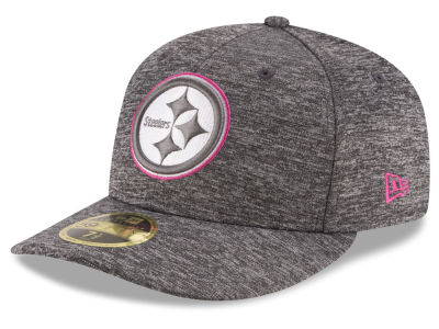 Pittsburgh Steelers NFL Breast Cancer Awareness Low Profile 59FIFTY Cap Hats