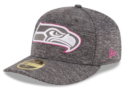 Seattle Seahawks NFL Breast Cancer Awareness Low Profile 59FIFTY Cap Hats