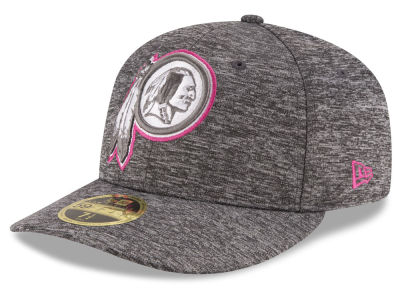 Washington Redskins NFL Breast Cancer Awareness Low Profile 59FIFTY Cap Hats