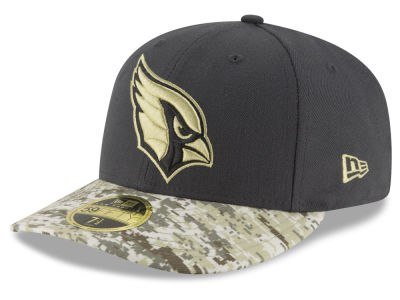 Arizona Cardinals NFL Salute to Service Low Profile 59FIFTY Cap Hats