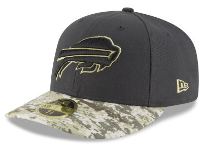 Buffalo Bills NFL Salute to Service Low Profile 59FIFTY Cap Hats