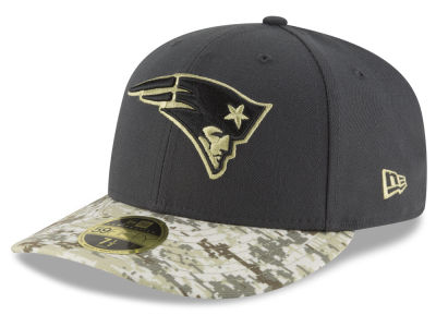 New England Patriots NFL Salute to Service Low Profile 59FIFTY Cap Hats