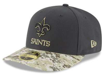 New Orleans Saints NFL Salute to Service Low Profile 59FIFTY Cap Hats