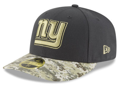 New York Giants NFL Salute to Service Low Profile 59FIFTY Cap Hats