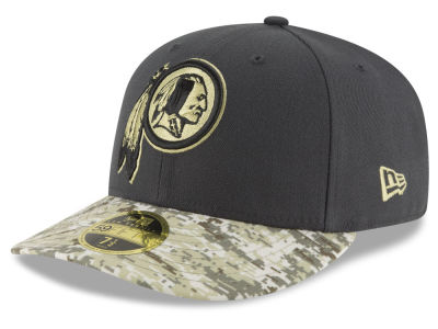 Washington Redskins NFL Salute to Service Low Profile 59FIFTY Cap Hats