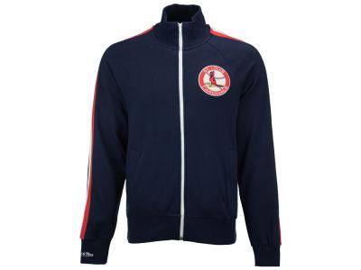 quality design 749c1 cfa21 St. Louis Cardinals Mitchell   Ness MLB Men s Division Terry Track Jacket    lids.com
