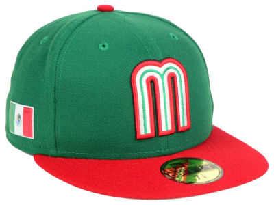Mexico World Baseball Classic 59FIFTY Cap Hats